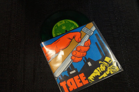 "Tree ""Smash The State!"" 1996 Colored Vinyl Art By Kozik"