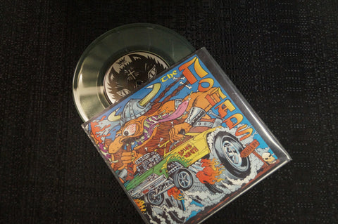 "The Nomads ""Iron Dream"" 1996 Colored Vinyl Art By Kozik"