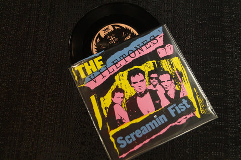 "Viletones ""Screamin' Fist"" 1997 Colored Vinyl Art By Kozik"