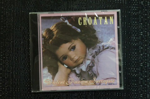 "Croatan ""Violent Passion Surrogate"" 1999 CD Art By Kozik"