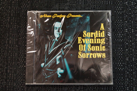 "Adam Parfrey ""A Sordid Evening of Sonic Sorrows"" 1997 CD Art By Kozik"