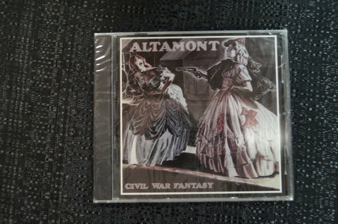 "Altamont ""Civil War Fantasy"" 1998 CD Art By Kozik"