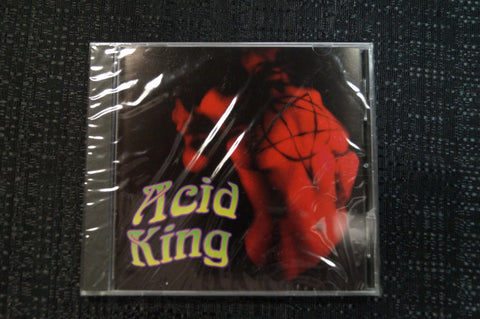 Acid King/Altamont Split Release 1997 CD Art By Kozik