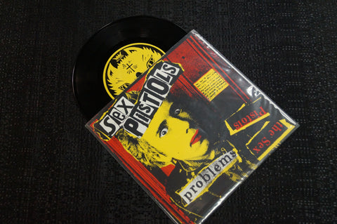 "Sex Pistols/The Curse ""Split Album"" 1998 Colored Vinyl Art By Kozik"