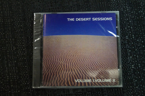 "The Desert Sessions ""Vol. I & II"" 1998 CD Art By Kozik"