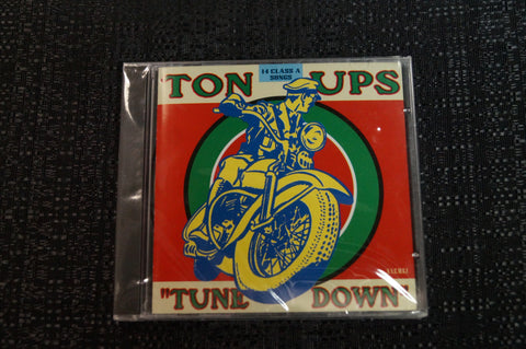 "Ton Ups ""Tune Down"" 1998 CD Art By Kozik"