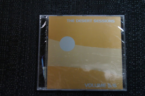 "The Desert Sessions ""Vol V/VI"" 1999 CD Art By Kozik"