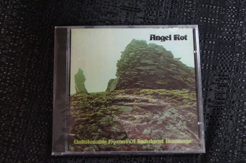 "Angel Rot ""Unlistenable Hyms of Indulgent Damage"" 1999 CD Art By Kozik"