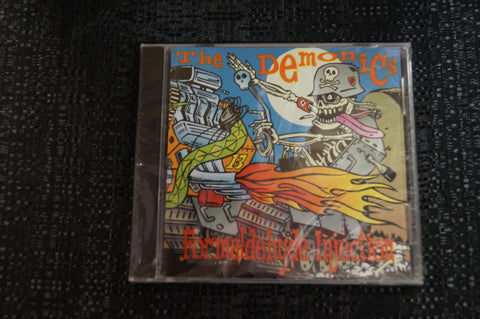 "The Demonics ""Formaldehyde Injection"" 1998 CD Art By Kozik"