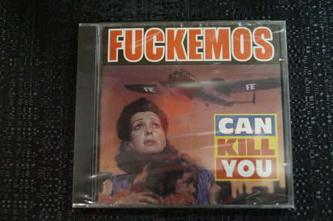 "Fuckemos ""Can Kill You"" 1998 CD Art By Kozik"