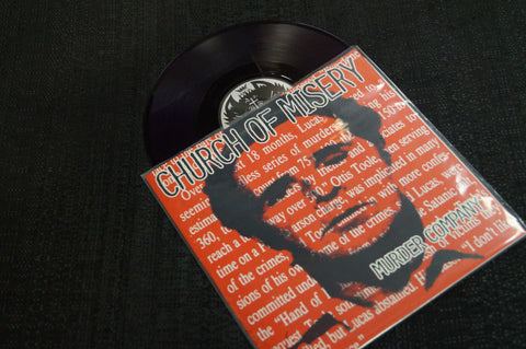"Church of Misery ""Murder Company"" 1999 Colored Vinyl Art By Kozik"