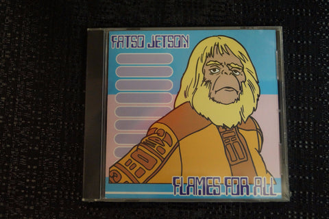 "Fatso Jetson ""Flames for All"" 1999 CD Art By Kozik"