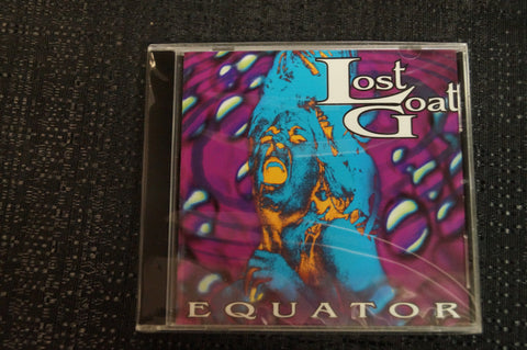 "Lost Goat ""Equator"" 1999 CD Art By Kozik"
