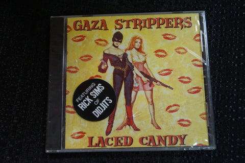 "Gaza Strippers ""Laced Candy"" 1999 CD Art By Kozik"