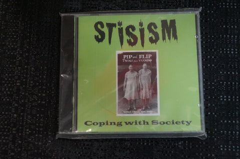 "Stisism ""Coping with Society"" 1999 CD Art By Kozik"