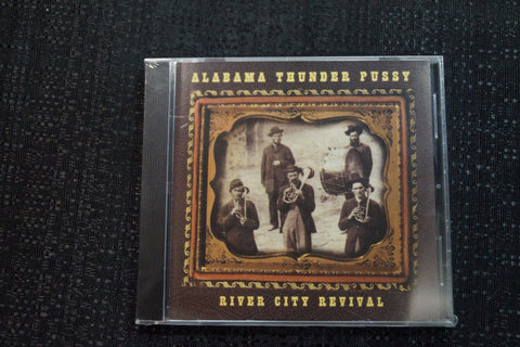 "Alabama Thunderpussy ""River City Revival"" 1999 CD Art By Kozik"