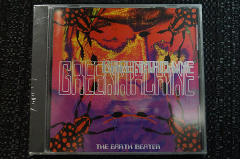 "Greenmachine ""The Earth Beater"" 1999 CD Art By Kozik"