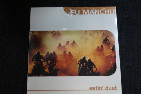 "Fu Manchu ""Eatin' Dust"" 1999 Vinyl Art By Kozik"