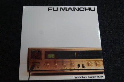 "Fu Manchu ""(Godzilla's) Eatin' Dust"" 1999 Colored Vinyl Art By Kozik"
