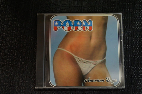 "The Men of Porn ""Porn, American Style"" 1999 CD Art By Kozik"