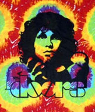 Tye-Dye Wall Hanging - The Doors