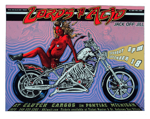 Emek - 1997 - Lords of Acid Concert Poster