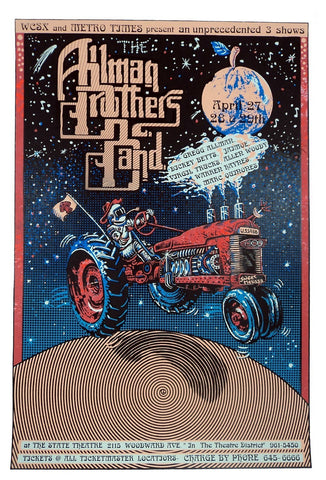 Emek - 1994 - Allman Brothers Band Concert Poster