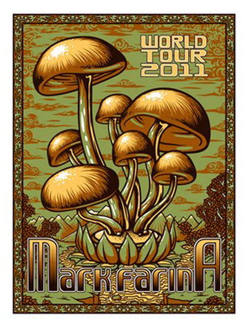 Timothy Ripley - 2011 - Mark Farina Tour Poster