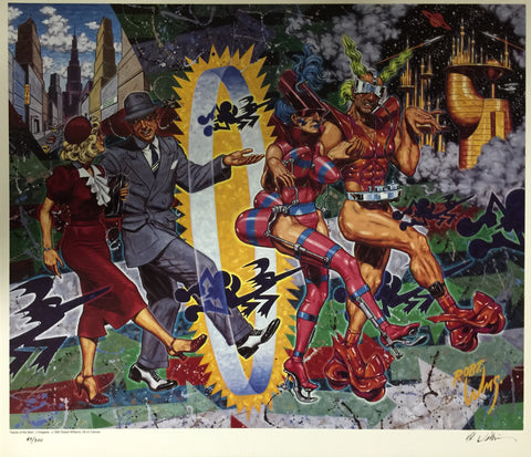 Robert Williams - 1992 - Vanity of the New Poster (Signed/Numbered)
