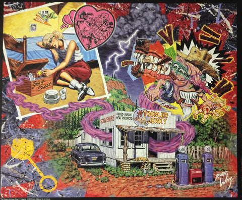 Robert Williams - 1992 - The Thing In The Hope Chest Print (Unsigned)
