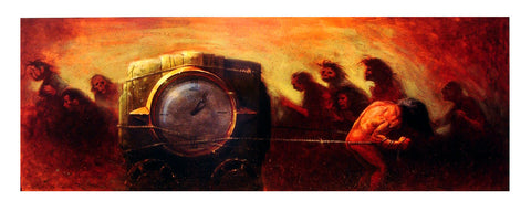 Glenn Barr - 2004 - The Persistence of Time Art Print