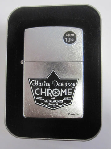 Zippo Lighter - Harley Davidson - HD Chrome Metal
