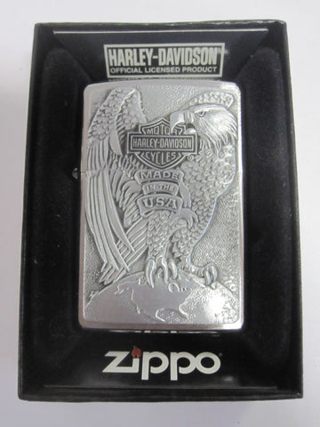 Zippo Lighter - Harley Davidson - Made in the USA Eagle