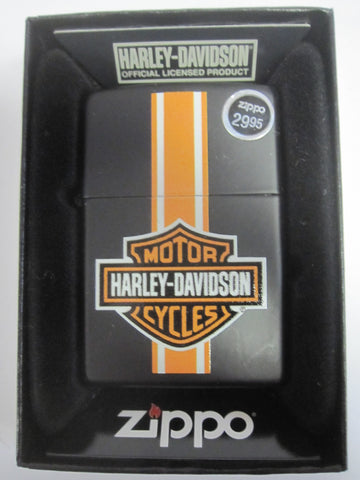 Zippo Lighter - Harley Davidson - HD Stripes