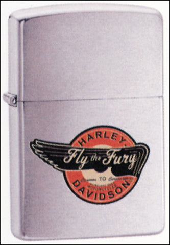 Zippo Lighter - Harley Davidson - Fly the Fury