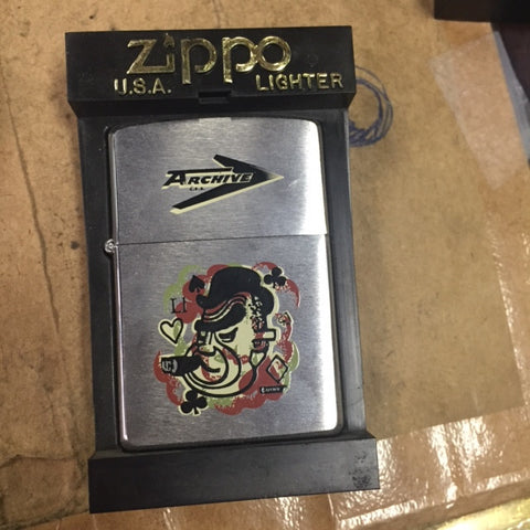 Zippo Lighter - Flame Rite -Csa Archive Heart Cigar