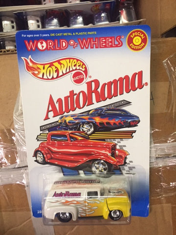 Hot Wheels Special Edition 56' Ford World of Wheels AutoRama car from 2000