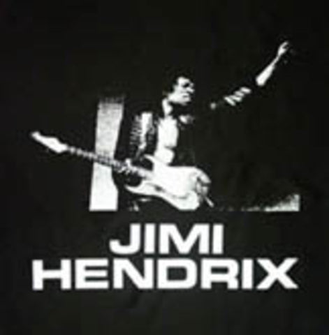 Black & White Wall Hanging - Jimi Hendrix