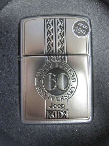 Zippo Lighter - Limited Edition - Jeep 60th Anniversary