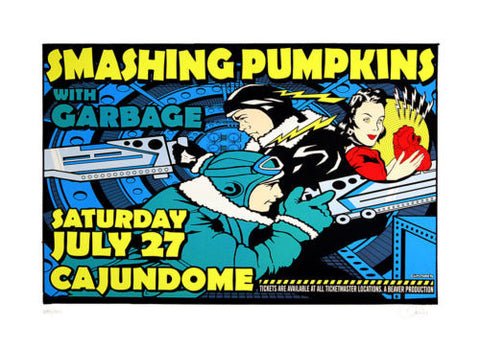 Uncle Charlie - 1996 - Smashing Pumpkins Concert Poster