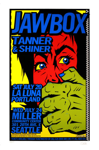 Uncle Charlie - 1996 - Jawbox Concert Poster