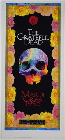 Troy Alders - 1995 - Grateful Dead Mardi Gras Print