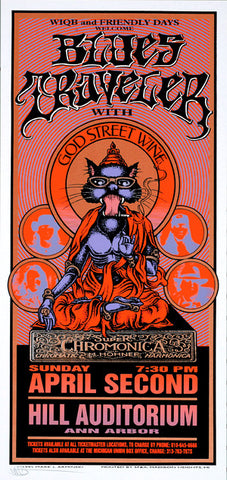 Mark Arminski - 1995 - Blues Traveler Concert Poster