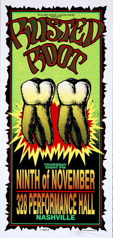 Mark Arminski - 1995 - Rusted Root Concert Poster