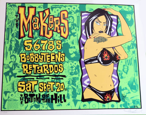 Alan Forbes - 1997 - The Makers Concert Poster