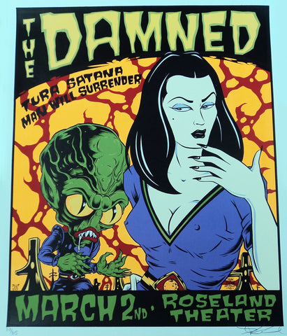 Alan Forbes - 1998 - The Damned Poster