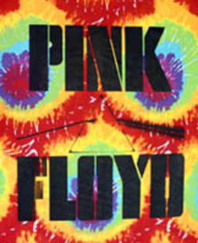 Tye-Dye Wall Hanging - Pink Floyd Darkside of the Moon