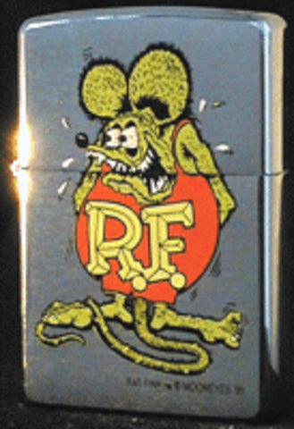 Zippo Lighter - Flame Rite - Rat Fink Moon Eyes