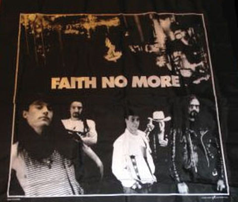 Black & White Wall Hanging - Faith No More