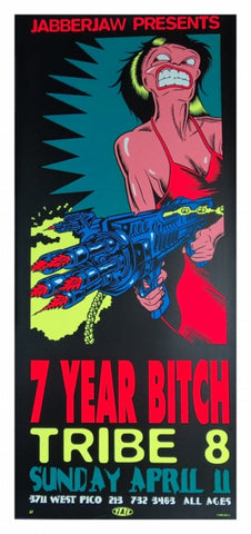 TAZ - 1993 - 7 Year Bitch Poster